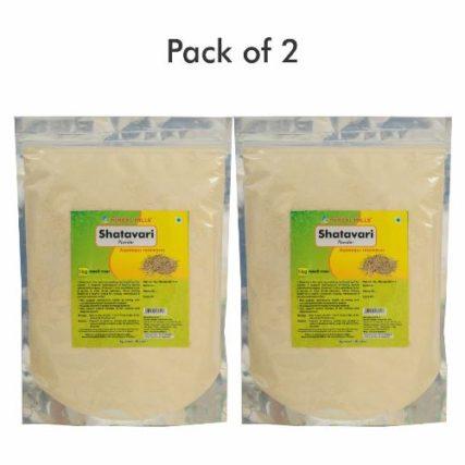 Shatavari Powder - 1 kg powder - Pack of 2 Ayurvedic herbal powder for Women in bulk pack 16